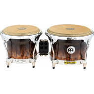 Бонги MEINL FWB400BB Professional Series Wood Bongo Brown Burl