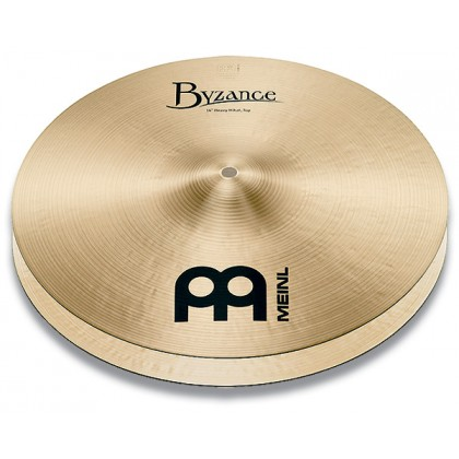 "14"" MEINL Byzance Traditional Heavy Hihat"
