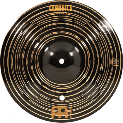 "12"" MEINL Classics Custom Dark Trash Stack"