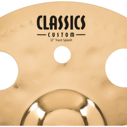"12"" MEINL Classics Custom Brilliant Trash Splash"