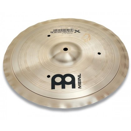 "12""/14"" MEINL Generation X Trash Hat Effect Cymbal Benny Greb Signature"