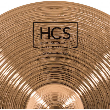 "20"" MEINL HCS Bronze Medium Heavy​ Ride"