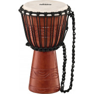 Джембе Nino Percussion NINO-ADJ2-S Original African Style Rope Tuned Wood Djembe, S Water Rhythm Series Brown 8""