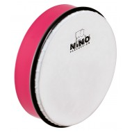 """Nino Percussion ABS Hand Drum Strawberry Pink 8"""""""