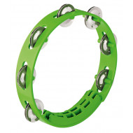 Тамбурин Nino Percussion Compact ABS Tambourine Grass-Green 8""