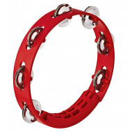 Тамбурин Nino Percussion Compact ABS Tambourine Red 8""