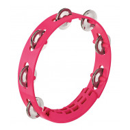 Тамбурин Nino Percussion Compact ABS Tambourine Strawberry Pink 8""