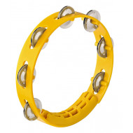 Тамбурин Nino Percussion Compact ABS Tambourine Yellow 8""