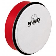 """Nino Percussion ABS Hand Drum Red 6"""""""