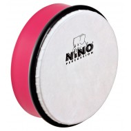 """Nino Percussion ABS Hand Drum Strawberry Pink 6"""""""
