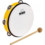 Тамбурин Nino Percussion ABS Tambourine Yellow 8""