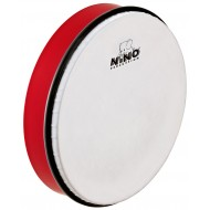 """Nino Percussion ABS Hand Drum Red 10"""""""