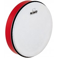 """Nino Percussion ABS Hand Drum Red 12"""""""