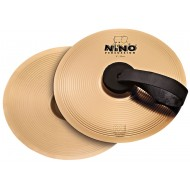 Nino Percussion Cymbal Pair Bronze 8""