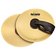 Nino Percussion Cymbal Pair Brass 8""