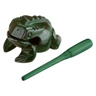 Гуиро Nino Percussion NINO513GR Wood Frog Guiro Small Green