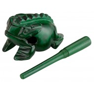 Гуиро Nino Percussion NINO514GR Wood Frog Guiro Medium Green