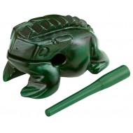 Гуиро Nino Percussion NINO516GR Wood Frog Guiro X-Large Green