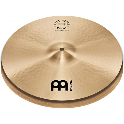"15"" MEINL Pure Alloy Medium Hi-hat"