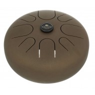 Хэппи драм MEINL Sonic Energy Steel Tongue Drum Vintage Brown A Minor STD1VB