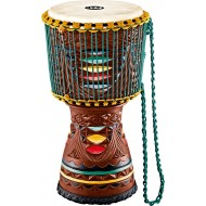 Джембе MEINL AE-DJTC2-L Artisan Edition Tongo Coloured Ornamental Carved Djembe 12""