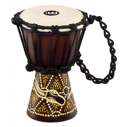 Джембе MEINL HDJ6-XXS Mini Djembe Dark Serpent Design 4 1/2""