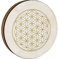 Фрейм барабан MEINL Sonic Energy Hand Drum Flower of Life 16""