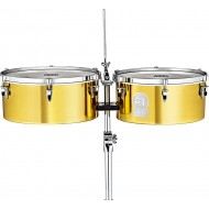 "Тимбалес MEINL Artist Series Timbales ""DIEGO GALÉ"" 14""&15"" Solid Brass"