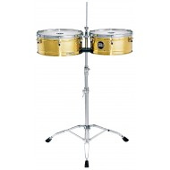 "Тимбалес MEINL Artist Series Timbales ""LUIS CONTE"" 14""&15"" Solid Brass"
