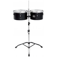 "Тимбалес MEINL Floatune Series Timbales 13""&14"" Black"
